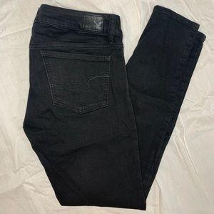 American Eagle black jeans / jeggings
